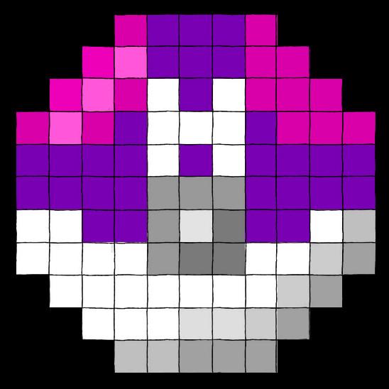 Master Ball Pixel Masterball by kathalaura Ultra Ball Sprite