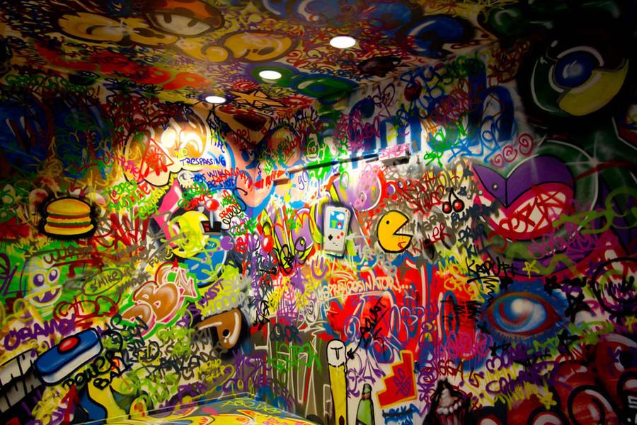 Color overflow - Wallpaper