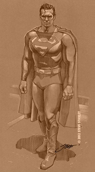 Superman Full Body Pose By Stevestanleyart On Deviantart
