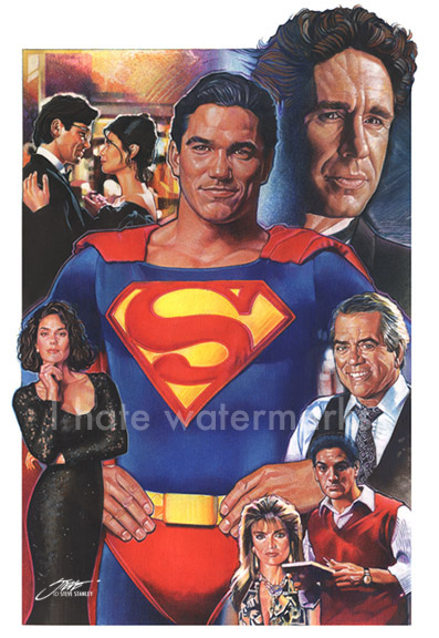 Lois and Clark--The Adventures of Superman Montage by SteveStanleyArt