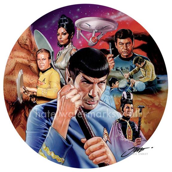 Star Trek / Mr. Spock / Amok Time, TOS by SteveStanleyArt