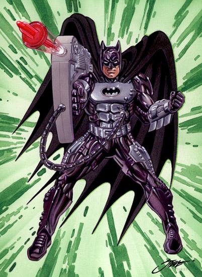 Urban Warfare Batman by SteveStanleyArt