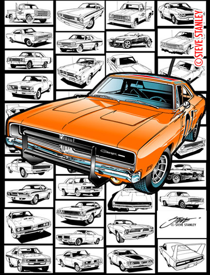 Mopar dodge charger automobile line art by stevestanleyart on mopar dodge charger automobile line art by stevestanleyart sciox Image collections