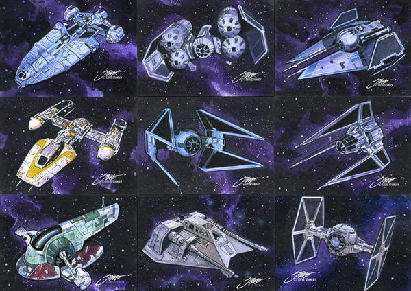 Star Wars: Full of Ship by SteveStanleyArt