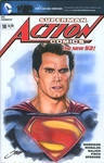 Action #18 Superman Cover/ Henry Cavill