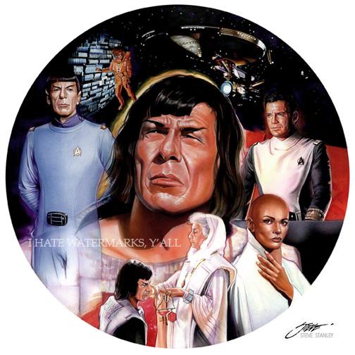 Spock Bon Jovi by SteveStanleyArt