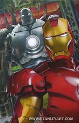 Ironman Illustration in progress by SteveStanleyArt