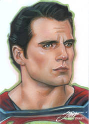 Henry Cavill, Man of Steel, Superman by SteveStanleyArt