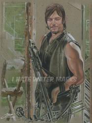 Daryl Dixon! The Walking Dead! by SteveStanleyArt