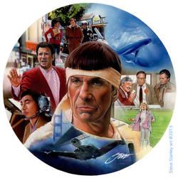Didn't you inspire us, Mr. Spock? by SteveStanleyArt