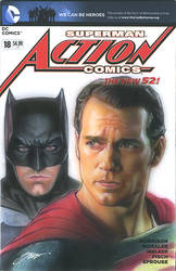 batman vs Superman 1 cover art