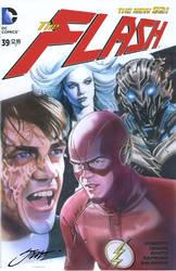 Savitar, Evil Barry and Killer Frost vs. The Flash