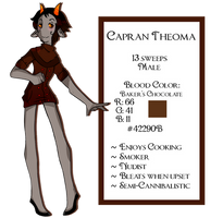 Capran Theoma: ReDesign by Coffeere