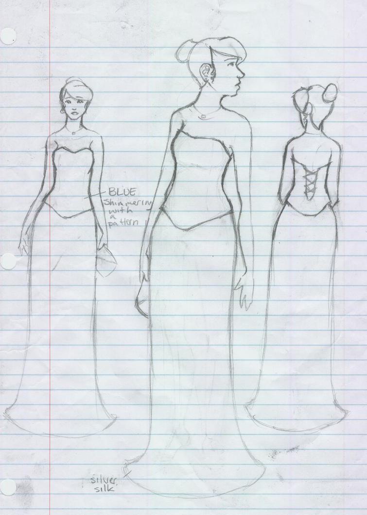 UBF Prom Dress Sketch by Marvy-Maggie on DeviantArt