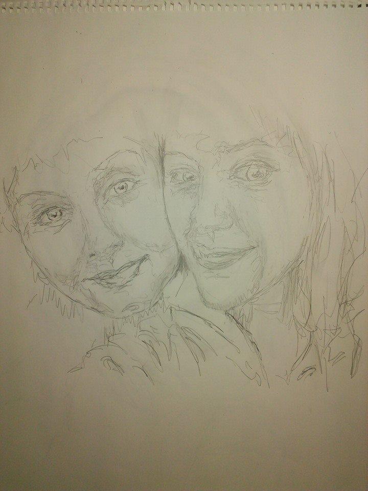 Danielle and Emma Mach I by Amann7