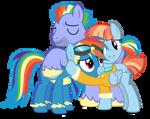 (MResv-1) Rainbow and Family