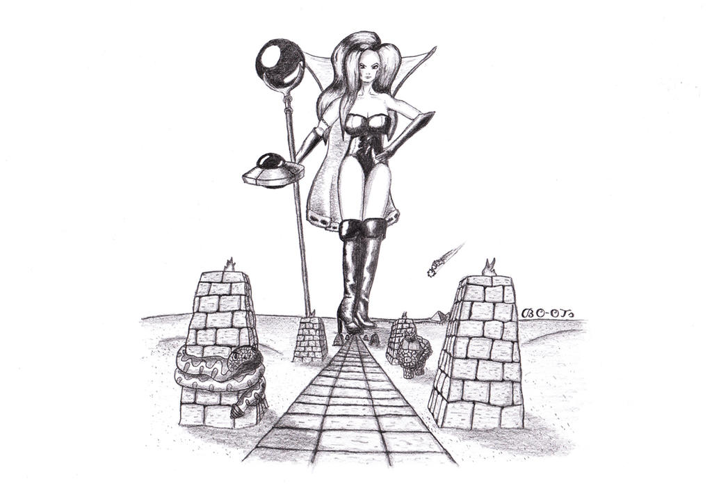 Giantess Dark Queen by BO-OTs