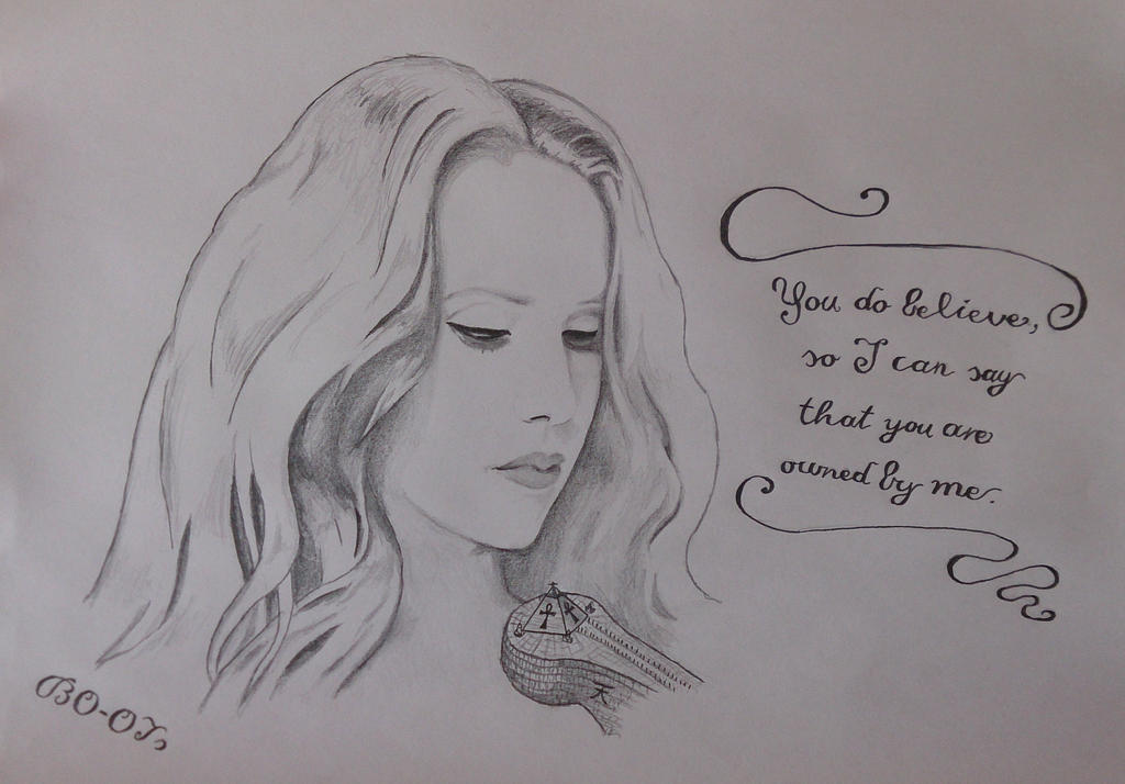 Bow to the Supremacy - Simone Simons by BO-OTs