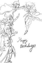 Happy Birthday Morgan! by Nowiismywife