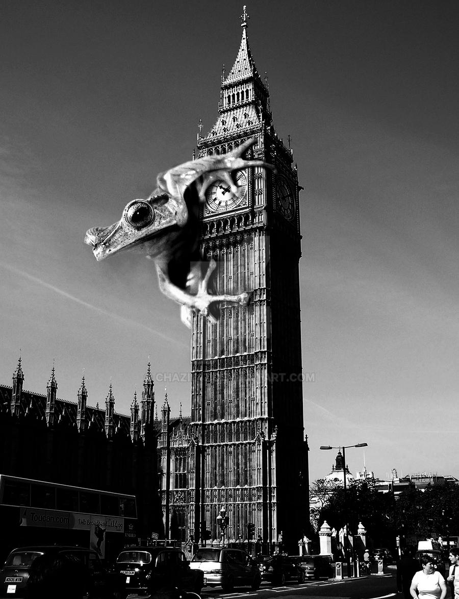 Frog hits london by chazie47 on deviantart for Frog london