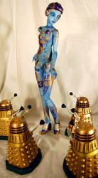 Astrid and the Daleks by roxyk630