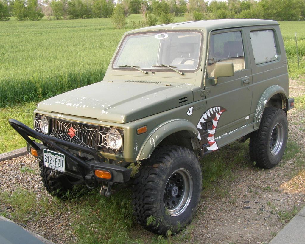 Can Suzuki Samurai Pull A Car Out Of A Ditch