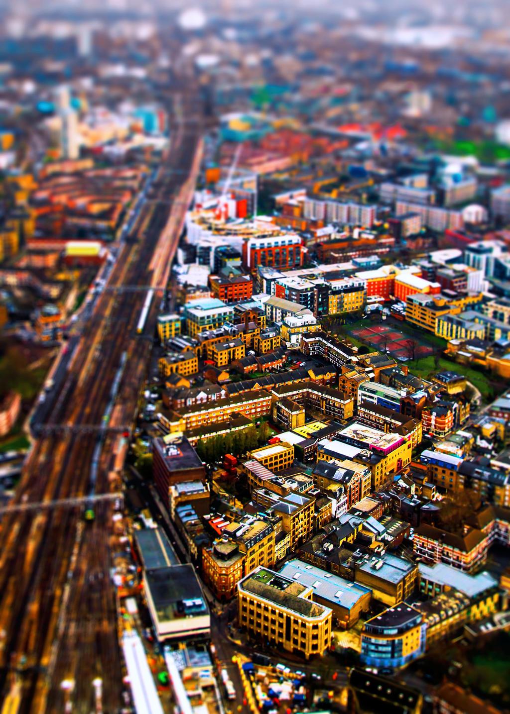London I by Kamal-Q
