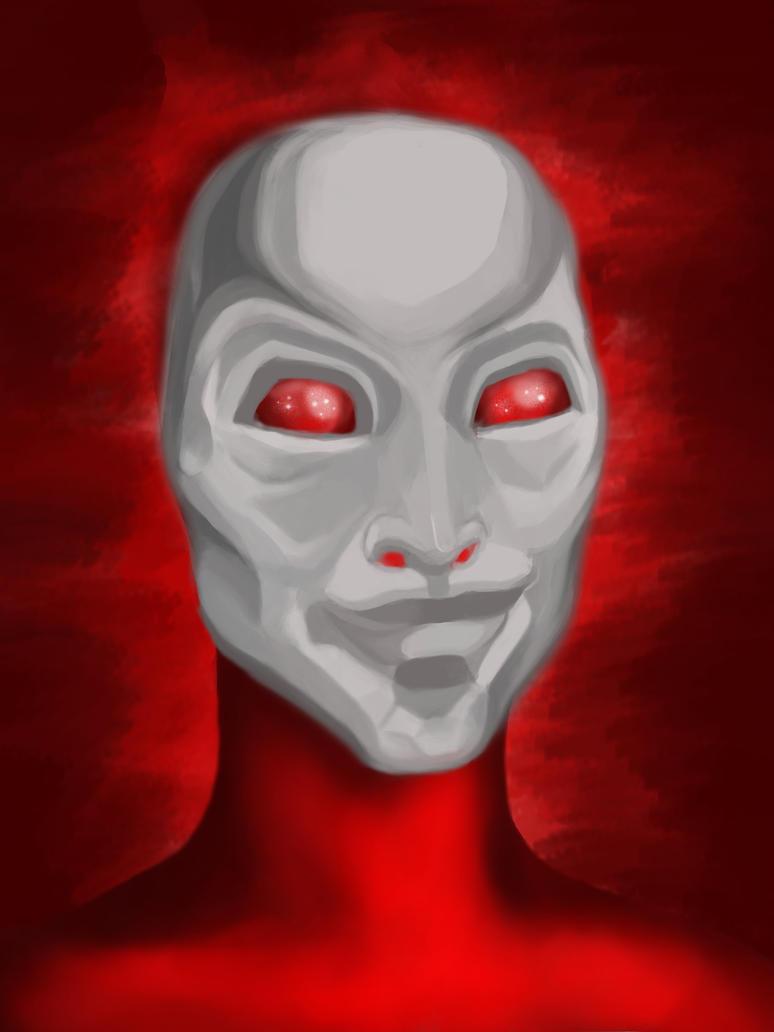 Masked I by mrbrooksdesign
