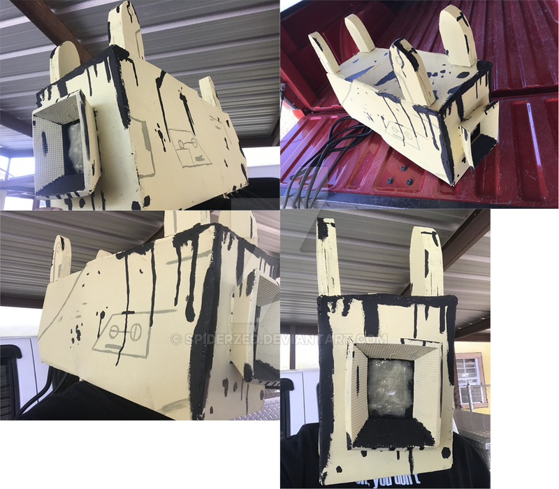 WIP Projectionist Cosplay project by SpiderZed