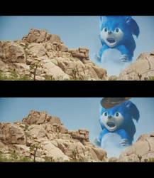 Sonic Ahh meme