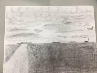 Sketchtember 2018 (backlog) day 2 cornfield (lazy) by CraneRelmaraVaerun