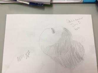 Sketchtember 2018 (backlog) day 3 apple by CraneRelmaraVaerun