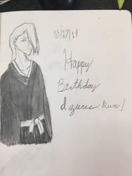 Happy Birthday Izuru-kun!! by CraneRelmaraVaerun