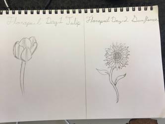 Florapril Days 1  2 by CraneRelmaraVaerun