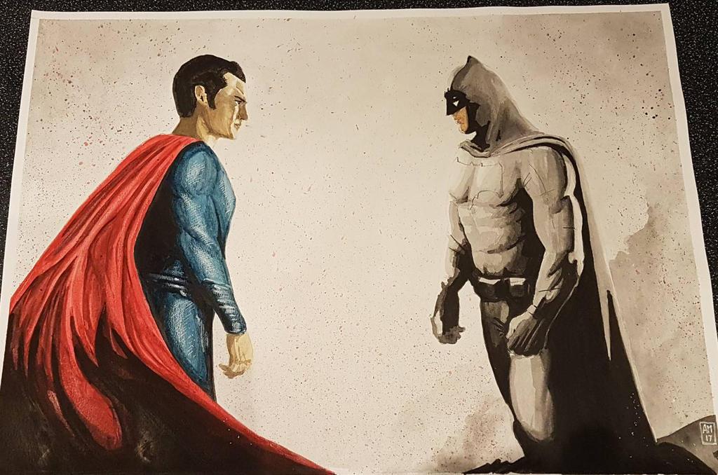 Batman vs Superman  by amines1974