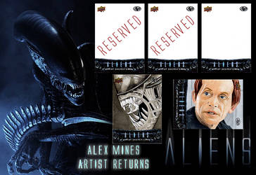 Upper Deck Aliens Licensed Trading Cards by amines1974