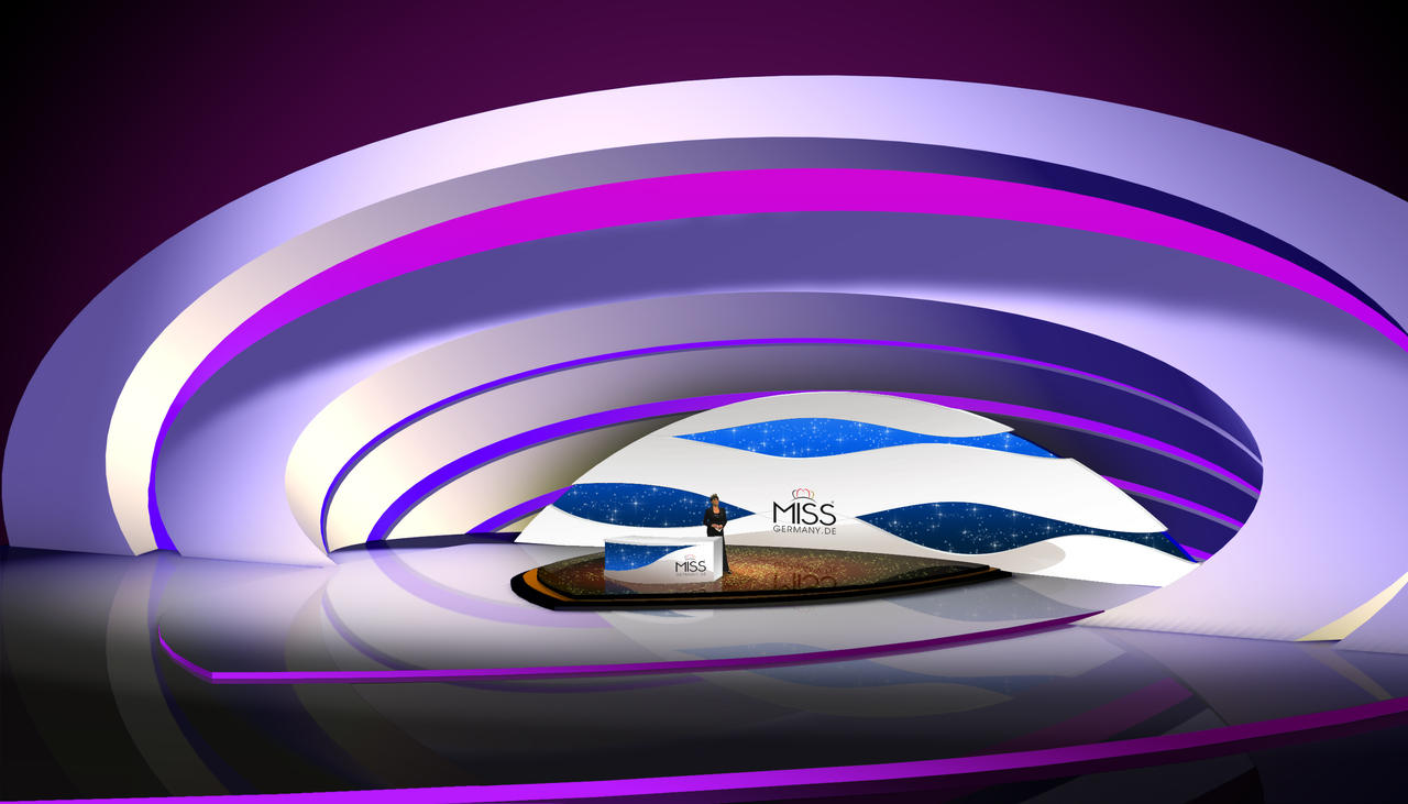 Studio Design MISS GERMANY TV On FAN Television By