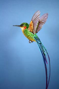 Paper Hummingbird5