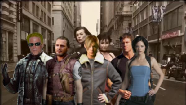 Resident Evil Retribution cast by Jack--Sparrow