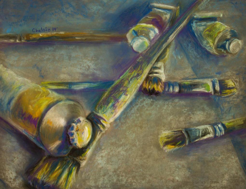 Artistic tools by blondbug