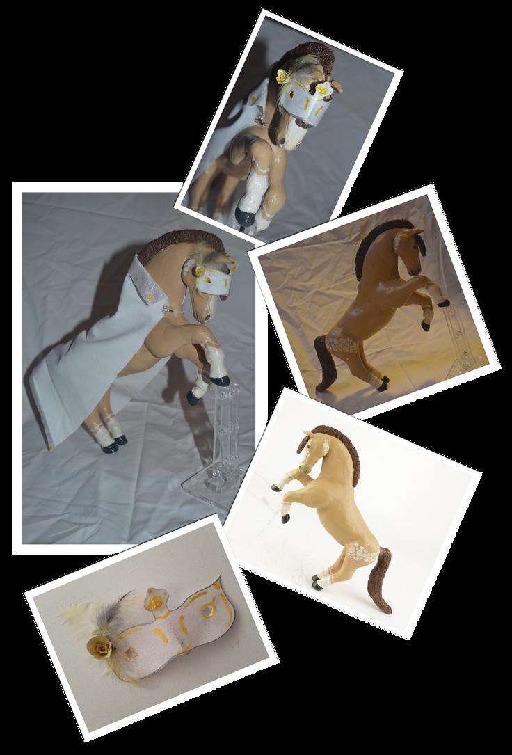 The Masquarade Model   Art Auction Entry by NikkiiQ