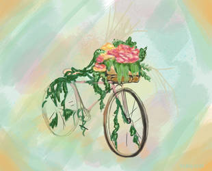 Spring Cycle by Iridescentli