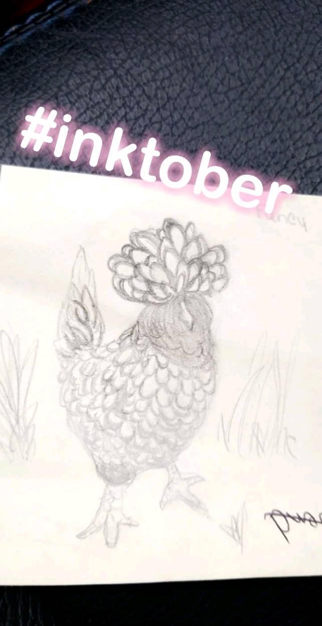 Inktober - 10/5 - Chicken