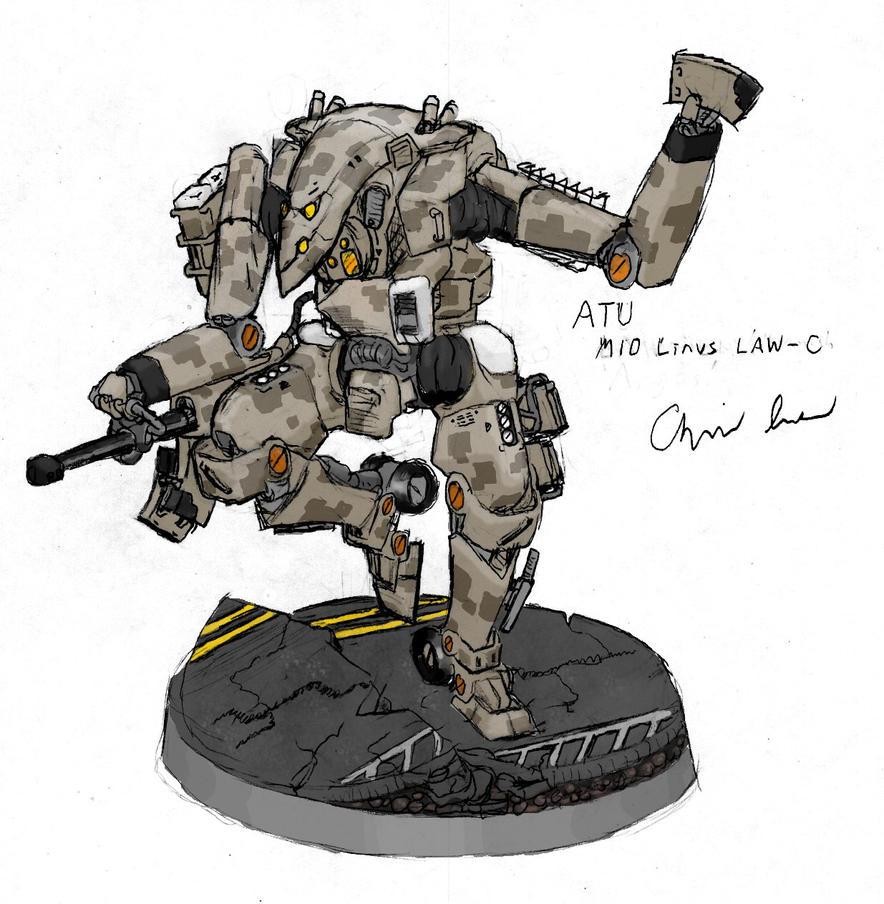 """M10 """"Linus"""" Light Assault Walker by Auger-Affect"""
