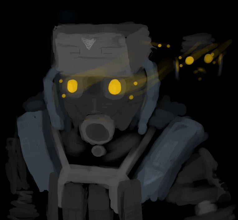Trooper Sketch by Auger-Affect