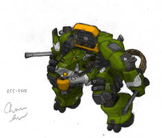 RCC Heavy Mech colored by Auger-Affect