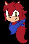 CG: Jane Dalia - Sonic Channel Headshot by mrneedlem0use