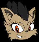 CG: Vaitrex - Sonic Channel Headshot by mrneedlem0use