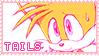 Pastel Pink Tails Stamp by mrneedlem0use