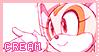 Pastel Pink Cream Stamp